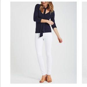 AG cigarette jeans the stilt white!!